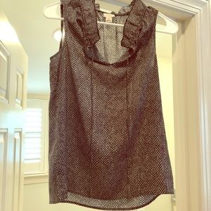 J. crew herringbone top